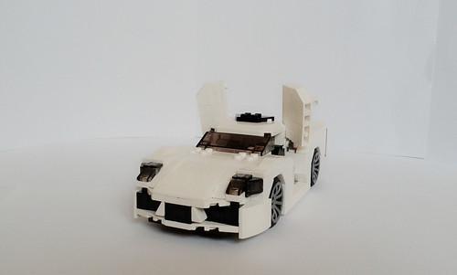 White Dodge Dynasty 1982