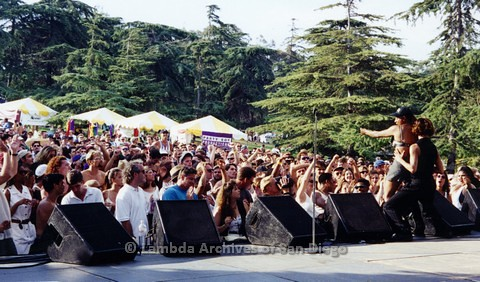 San Diego LGBT Pride Festival: Entertainment Main Stage Audience.