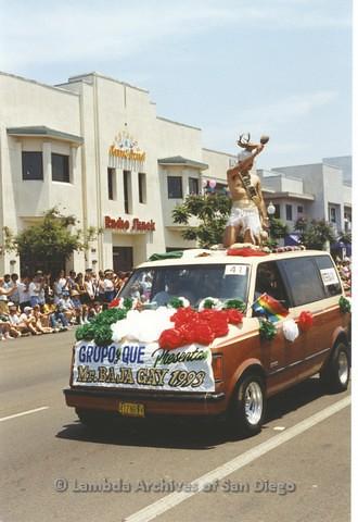 1994 - San Diego LGBT Pride Parade: Contingent - Grupo Y Que.