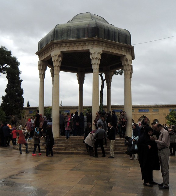 Tomb of Hafez by bryandkeith on flickr