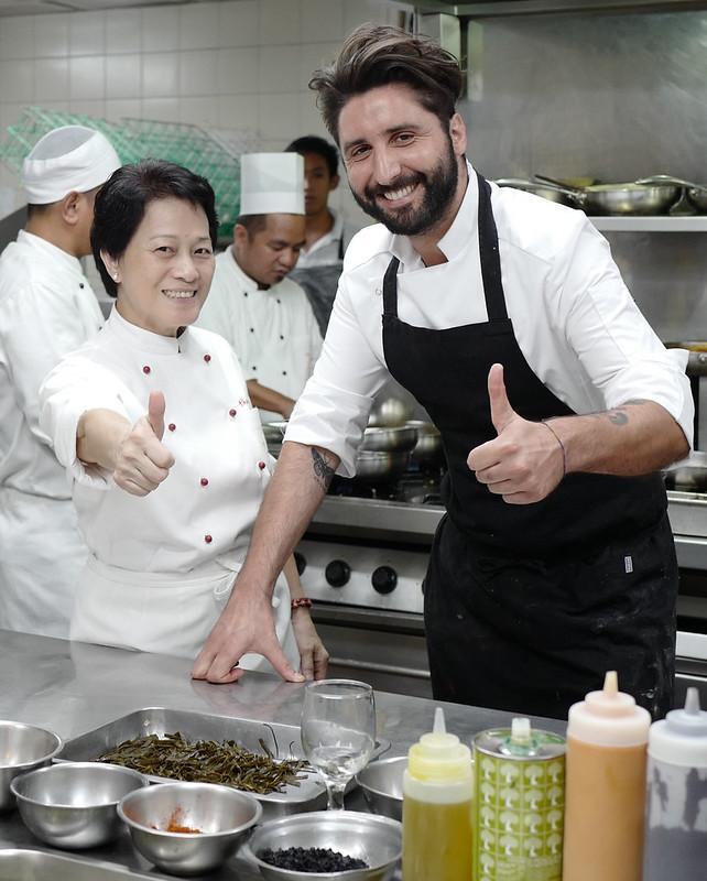Chef Jessie Sincioco and Chef  Musaro Rocco Roberto