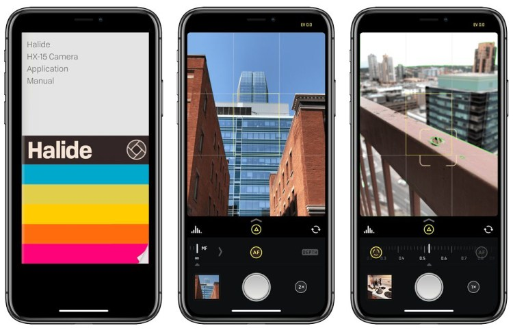Best Camera Apps - Halide, ProCam 5, Obscura 2