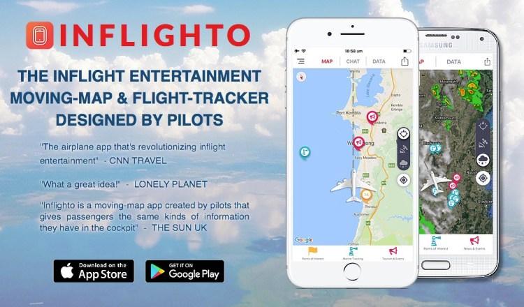 Inflighto: In-Flight Tracking App