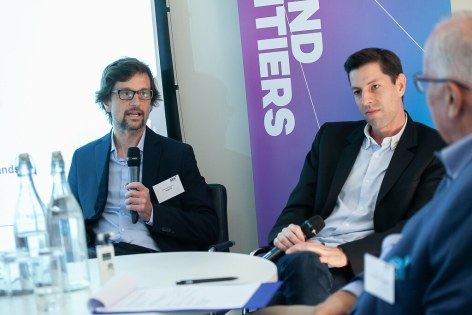 SES Ultra HD Conference 2018 - Graeme Stanley, CCO, Insight TV, Netherlands, Stéphane Schweitzer, CEO/Founder of Clubbing TV, France