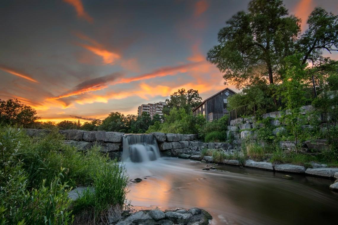 Silver Lake at Waterloo Park, Ontario