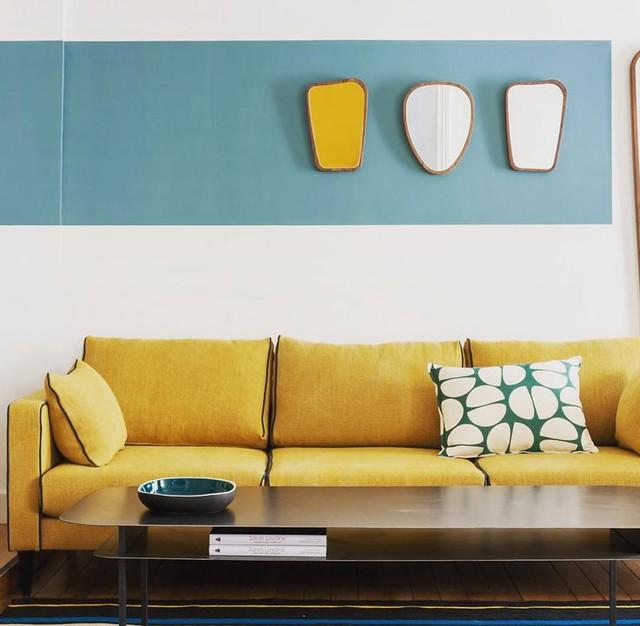 Modern Interiors Design : Beautiful interiorstyling by Sarah Lavoine- retro, design, living
