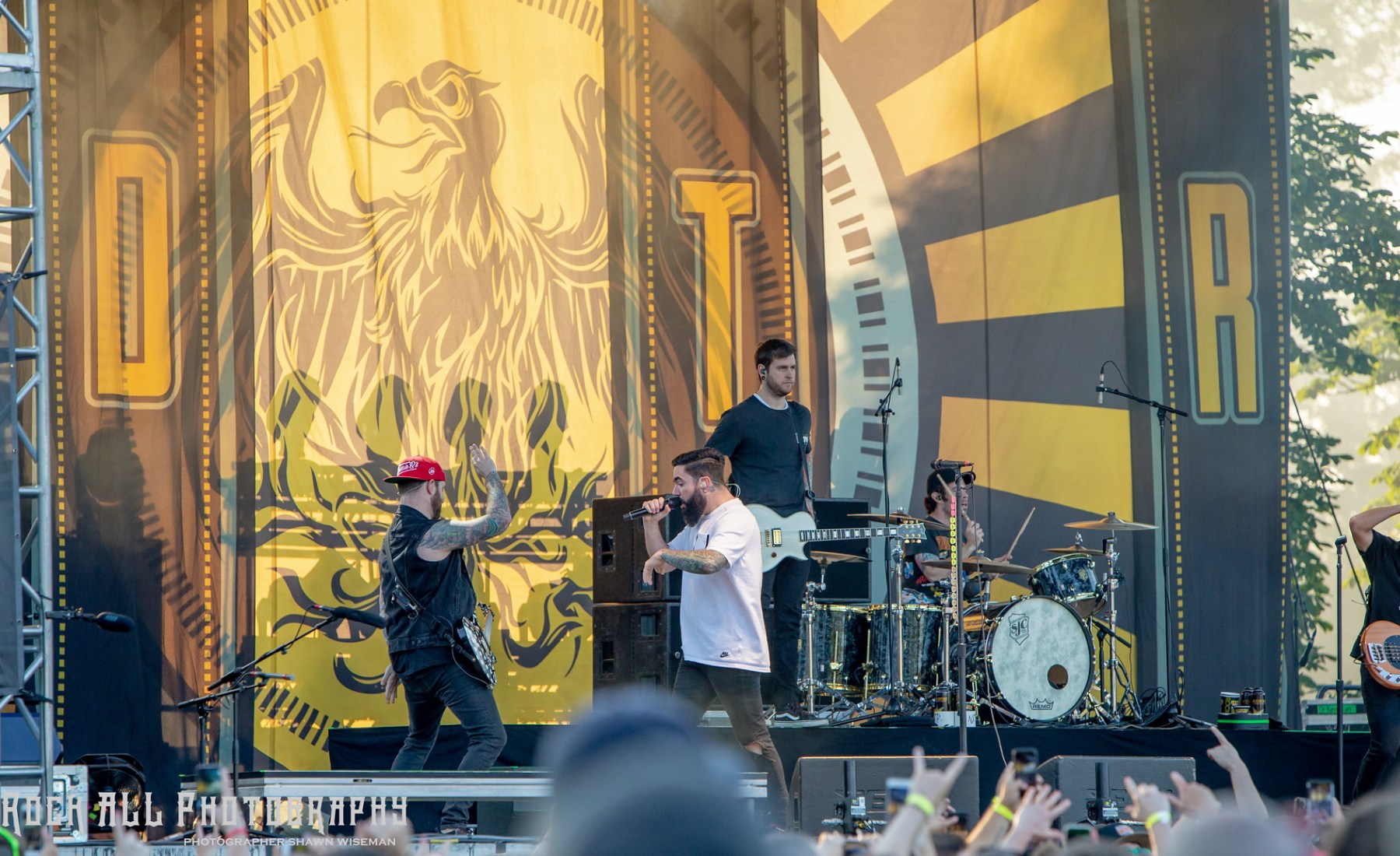 A Day To Remember - Inkcarceration Festival Day 1 - Mansfield, OH - 7/13/18