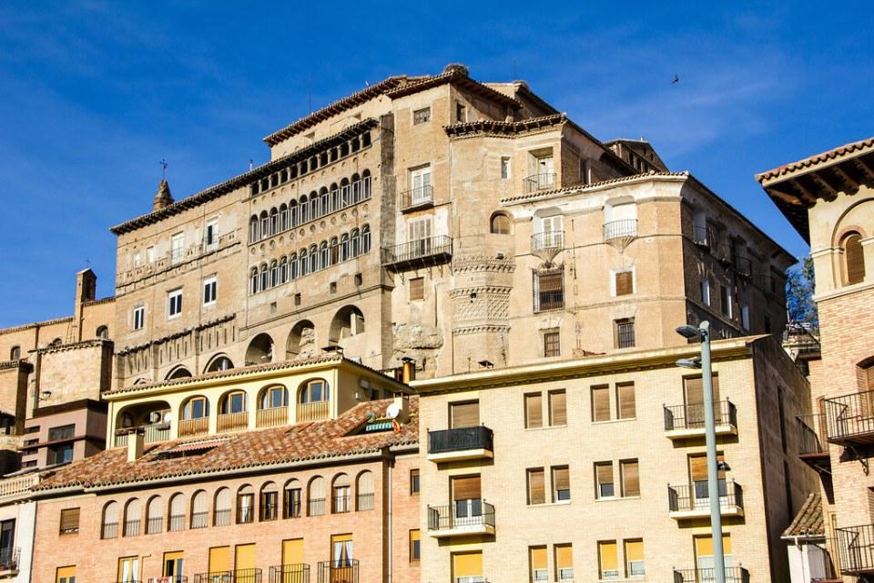 vista exterior Palacio Episcopal Tarazona Zaragoza 01