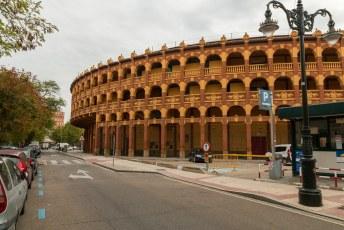 Plaza de Toros, het op één na oudste stadion voor stierengevechten in Spanje met ruimte voor 10.000 toeschouwers.