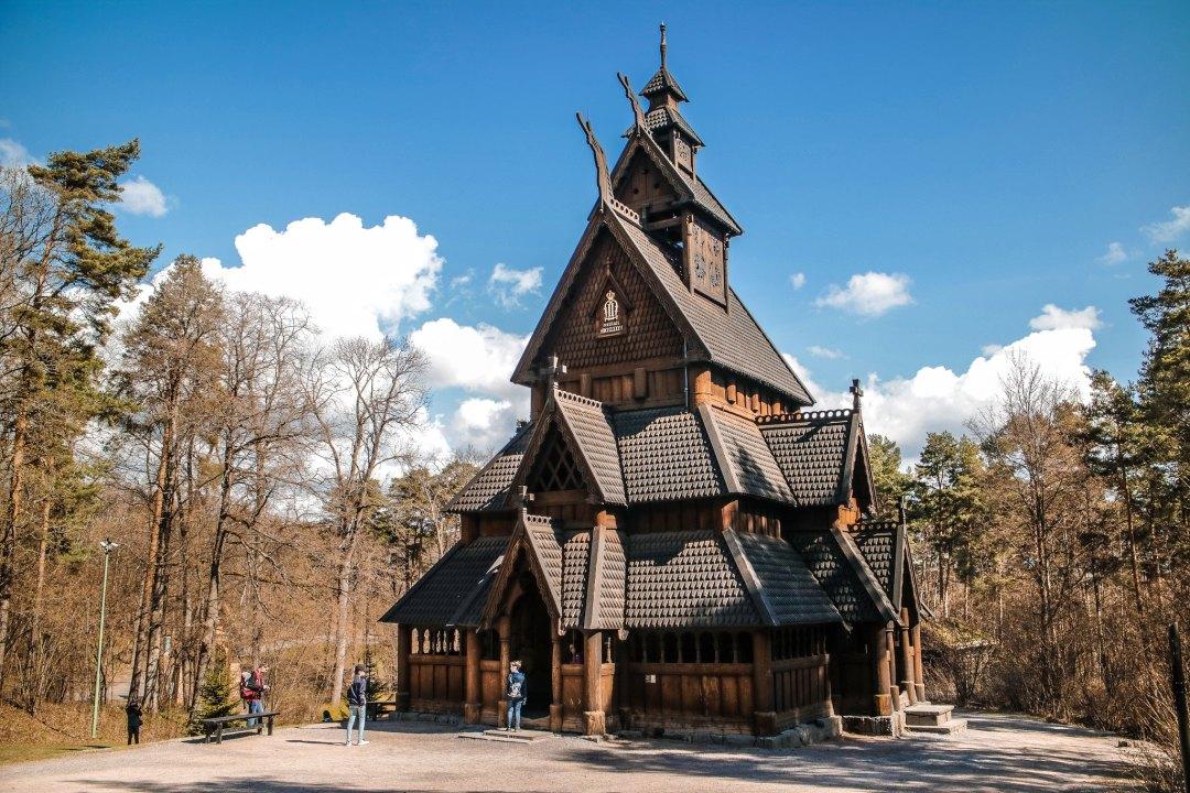 Stavkirke, Museo Folkloristico Norvegese, Oslo