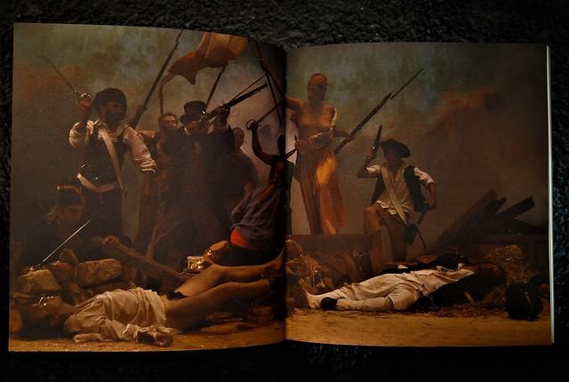 4. Imagen del catálogo de la exposición Superivivientes, disponible en la Sala Juana Francés. P. 28 y 29.