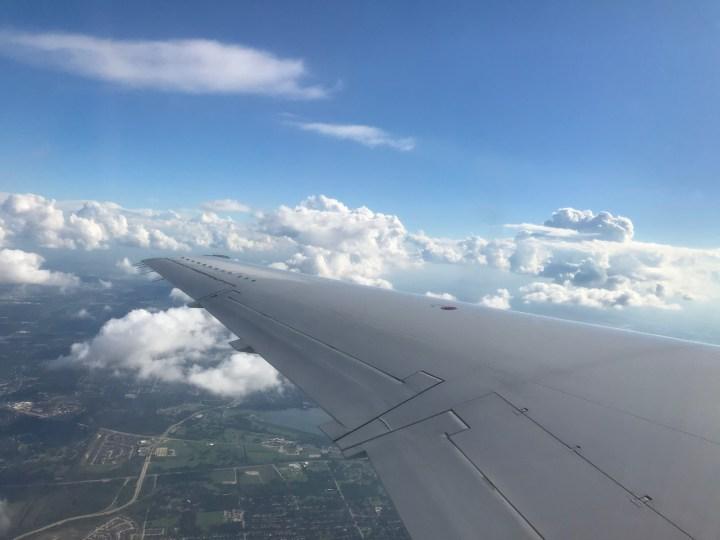 Airplane skincare