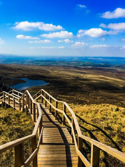Cuilcagh Mountain   Ireland's Stairway to Heaven