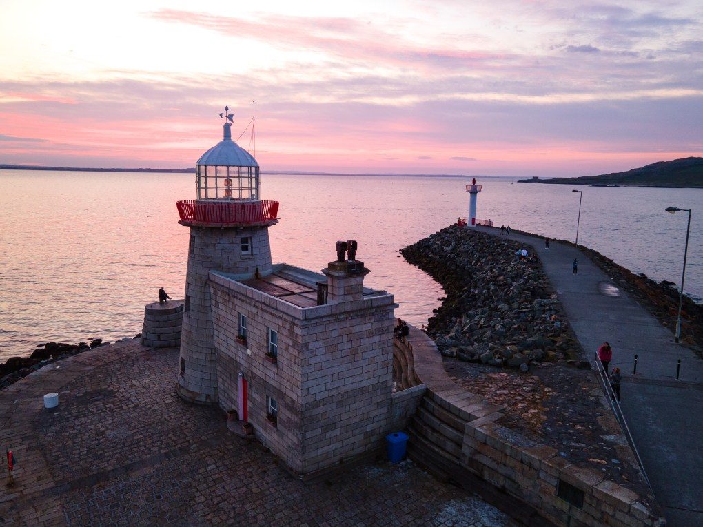 Dublin Sunset - Howth Pier