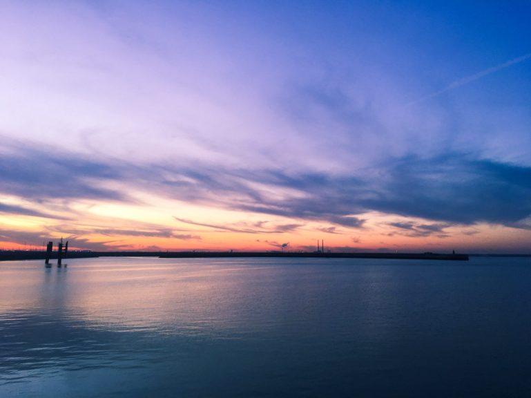Sunset, Dun Laoghaire, Ireland