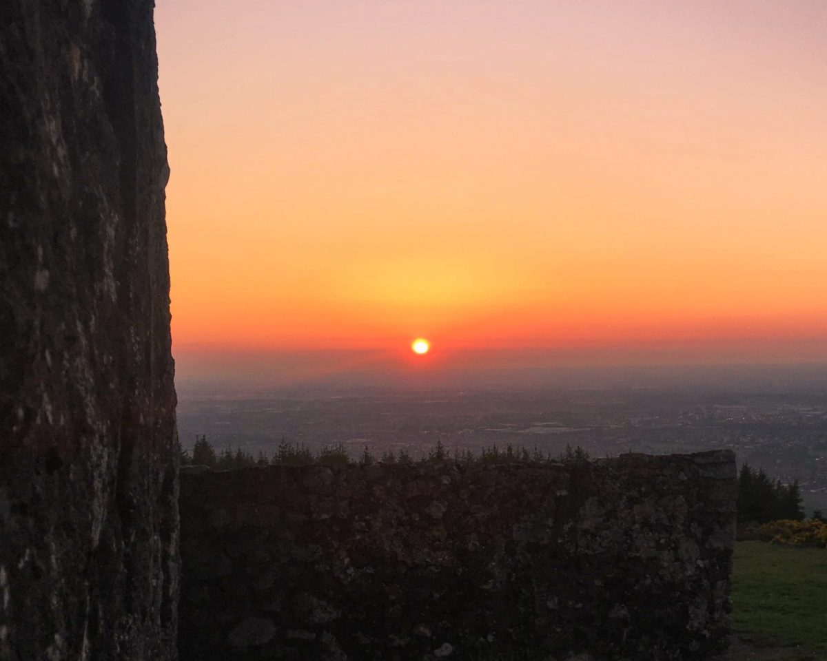 hellfire club walk Sunset