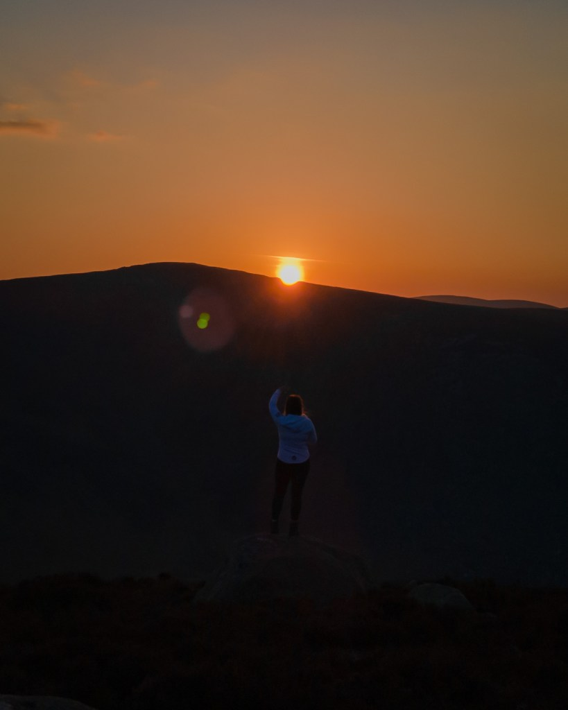 Wicklow Sunset - Lough Tay