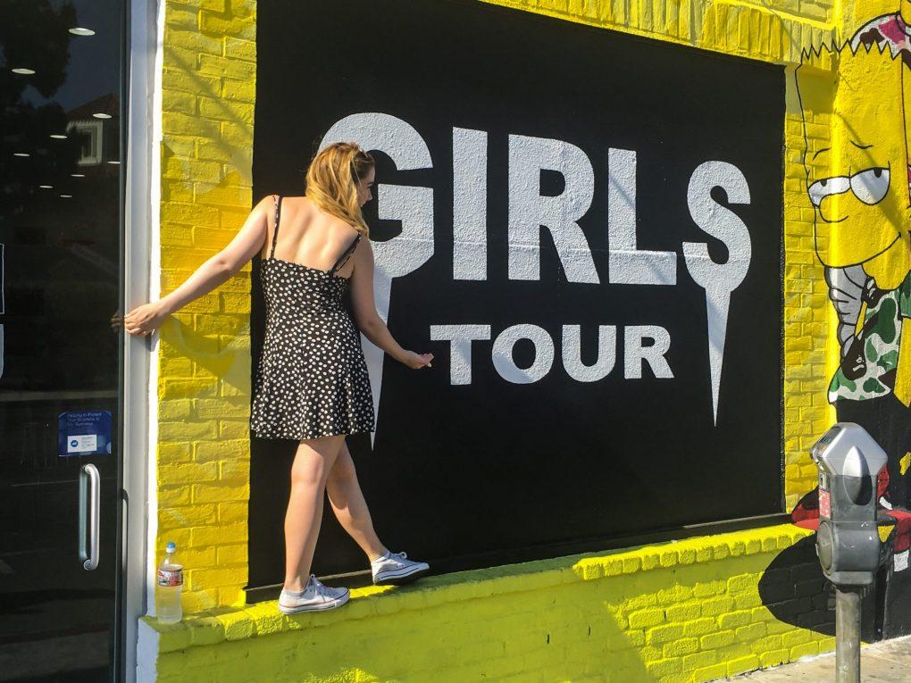 Girls Gang Wall