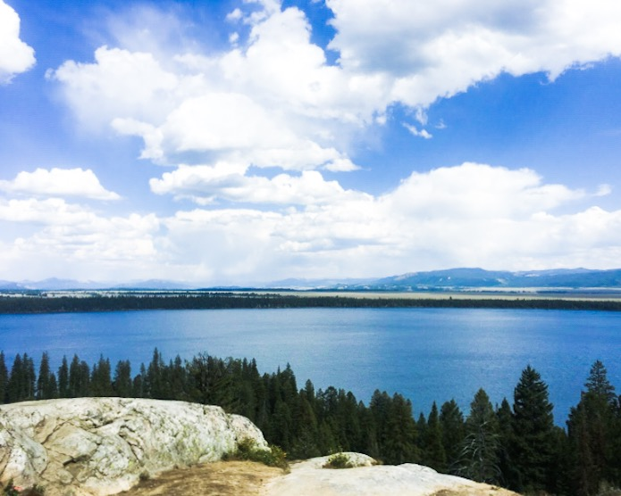 Hiking the Grand Tetons Inspiration Point Jenny Lake