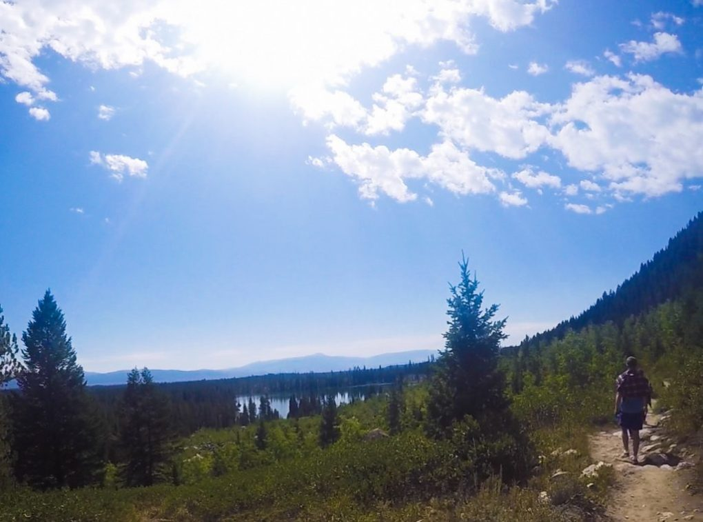 Hiking Grand Tetons