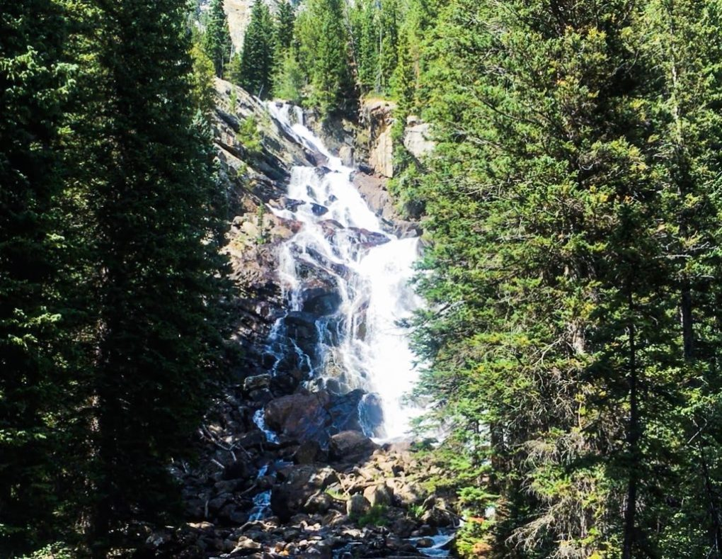 Hiking the Grand Tetons Hidden Falls