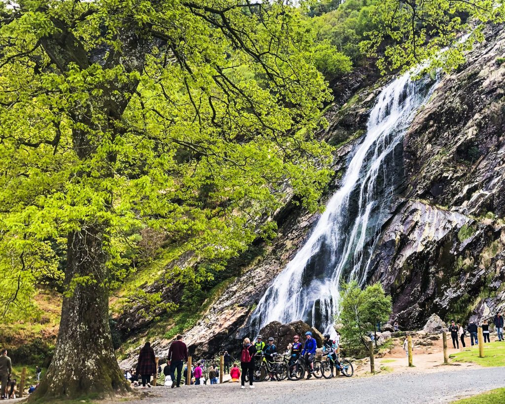 Day Trips from Dublin Powerscourt Waterfall