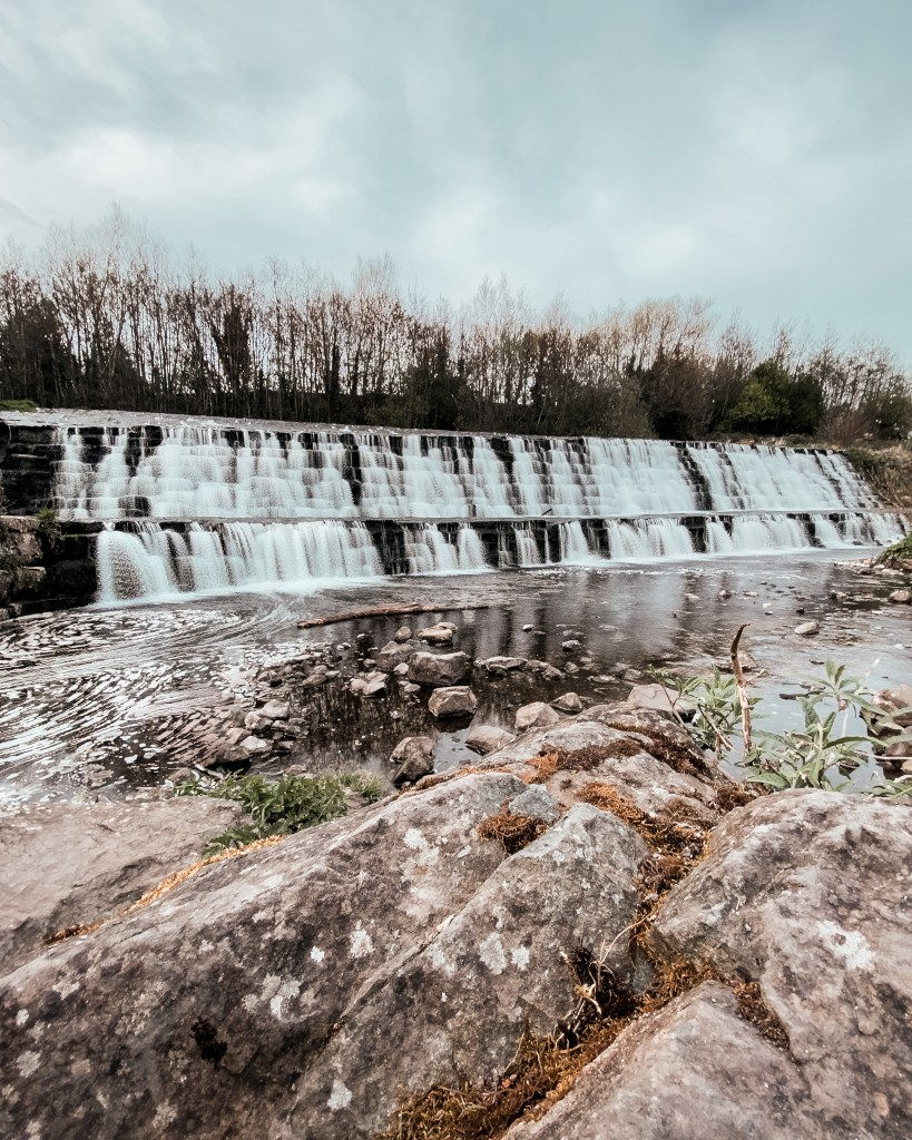 The Firhouse Weir, the Dodder, Dublin, Ireland