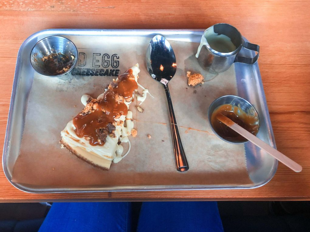 Design your own Cheesecake at Mad Egg