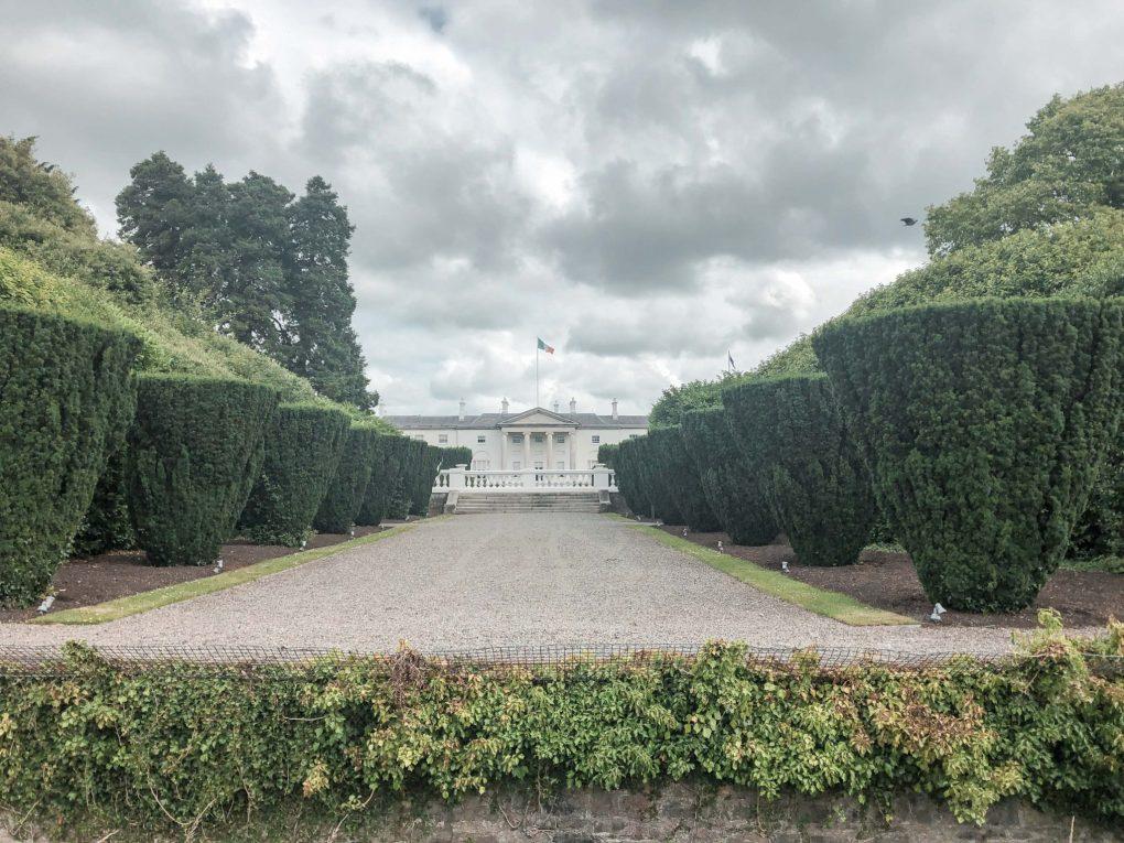 Visit Ireland's Presidents House the 'Aras an Uachtarain'