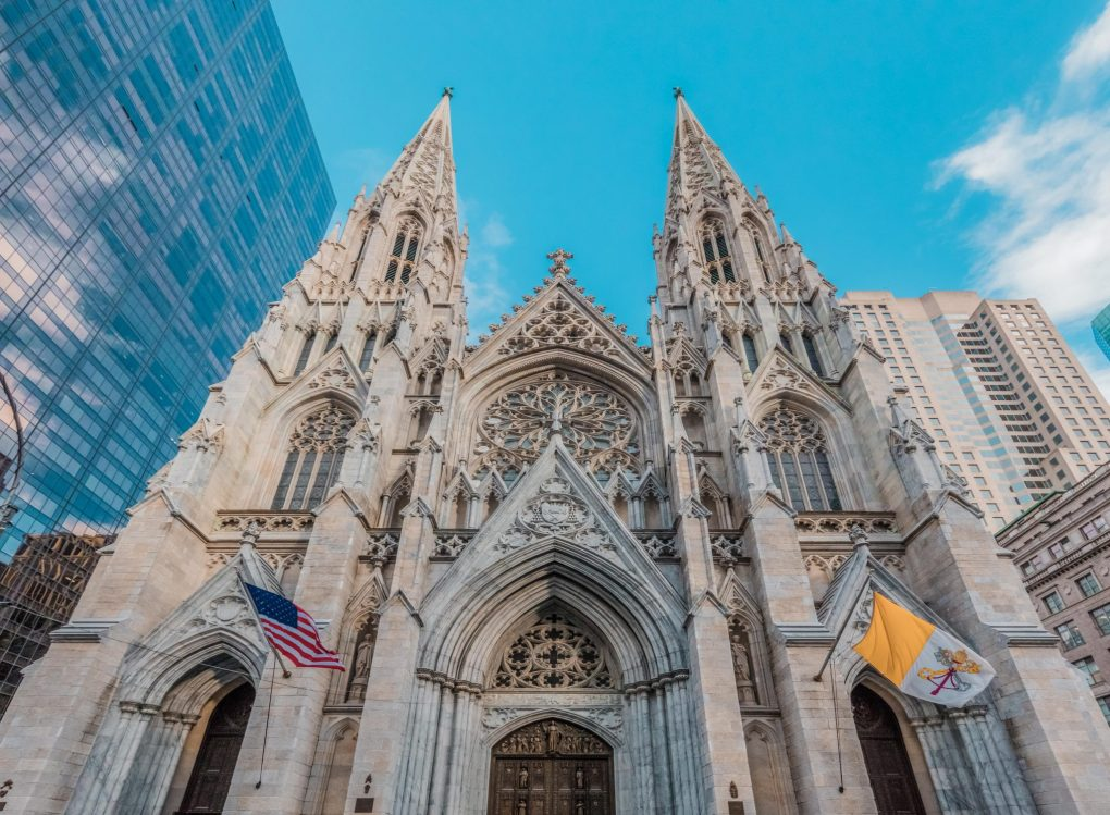 St. Patrick's Cathedral, New York City, USA