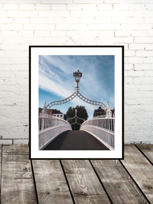 Ha Penny Bridge Dublin Print