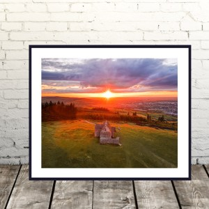 Hellfire Club Sunset Dublin Prints
