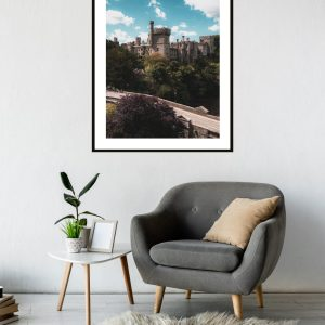 Lismore Castle Waterford Portrait Print