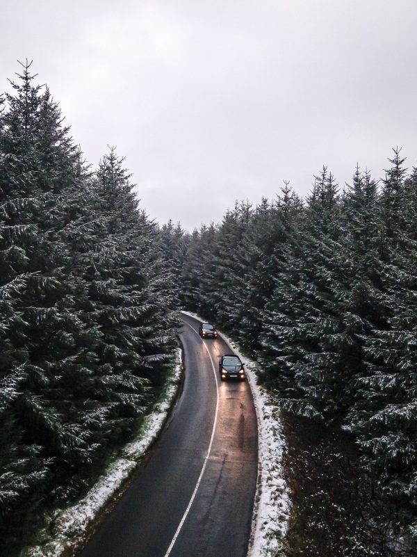 Snow Dublin Mountains Photo Print