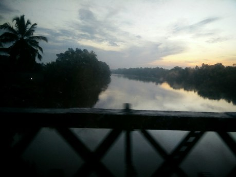 We landed in Colombo first and then took the train to Jaffna. This was the view from the train ride.