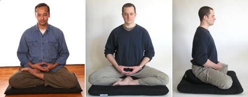 Types of meditation - Zazen posture