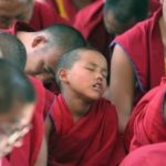 falling asleep in meditation