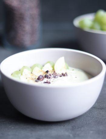 Schnelles Frühstück mit Joghurt