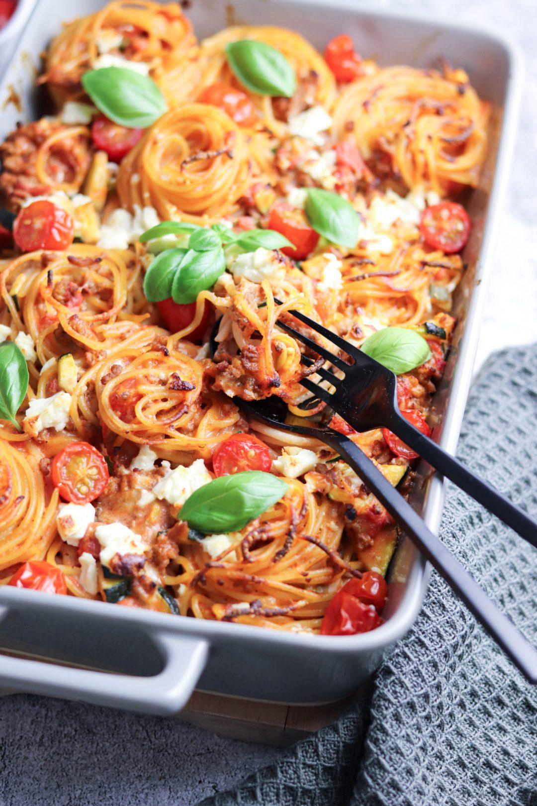 Spaghettiauflauf 2