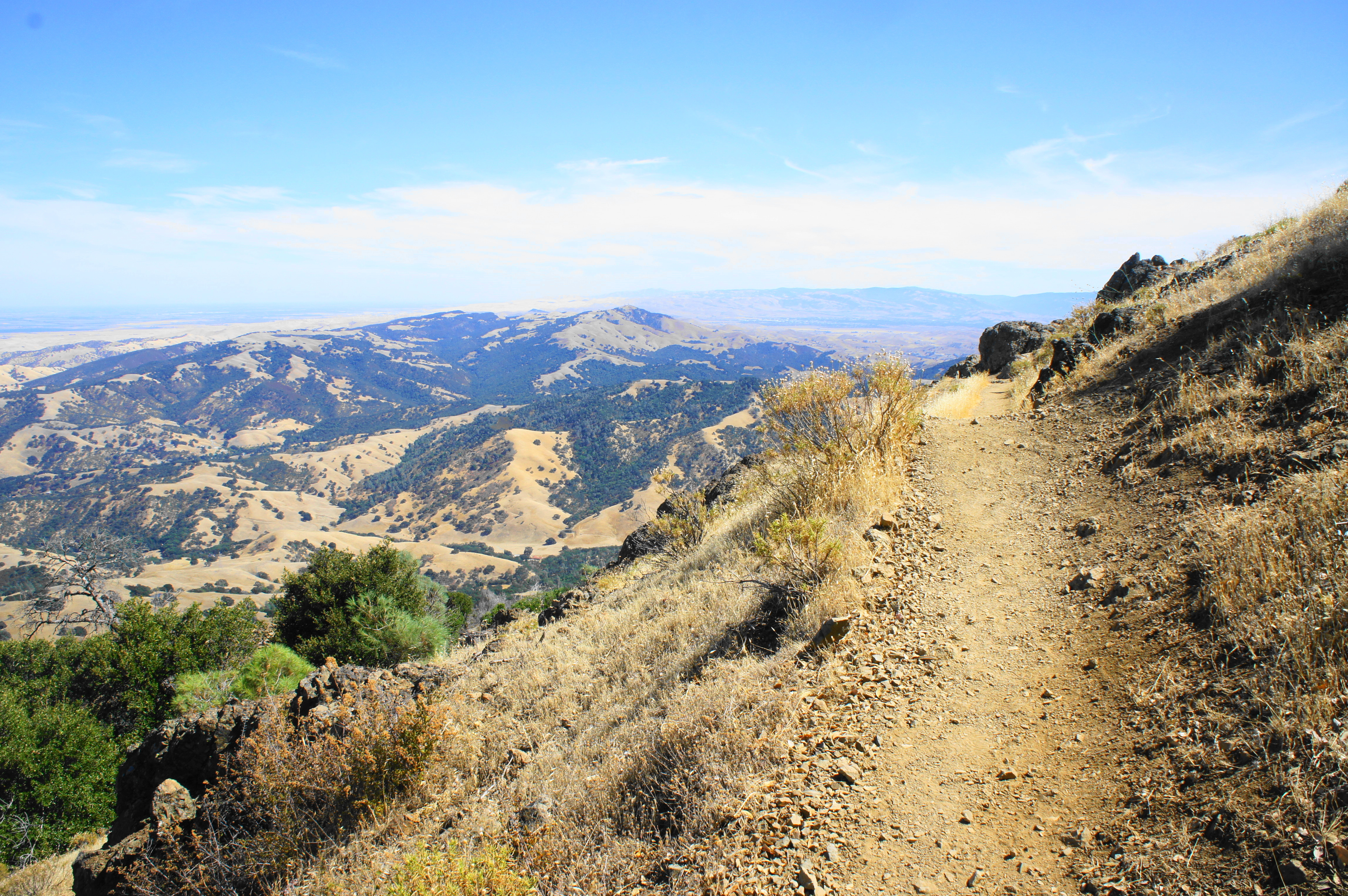 Mount diablo, central and southern california ranges, pacific coast ranges, united states mountain weather forecast for 1173m. Mount Diablo Via Eagle Peak And Mitchell Canyon Mount Diablo State Park Ca Live And Let Hike