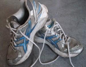 Et par gamle slidte lånte sko, var med til at kickstarte min passion for løb