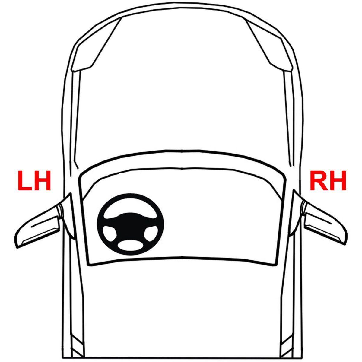 New Passenger Side Inner Tail Light For Dodge Journey