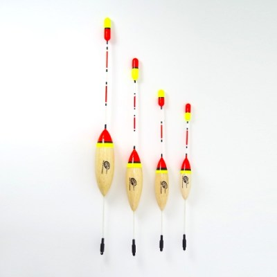 Bream Bobber Float - 6,7,8,9 inch balsa