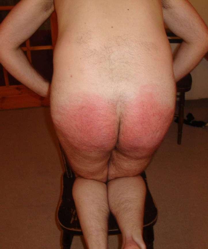 spanked hard, otk,