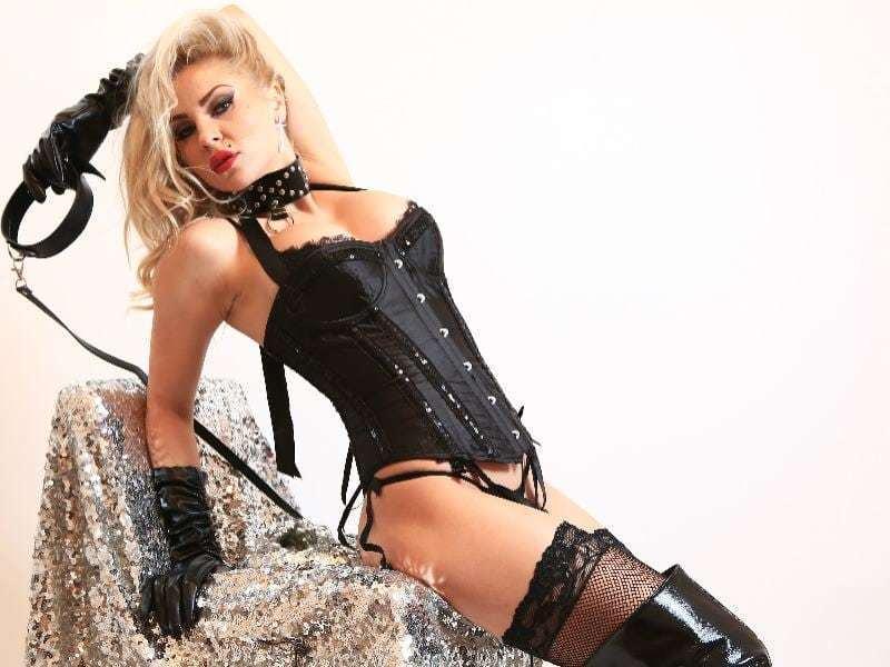 Blond Mistress On Webcam