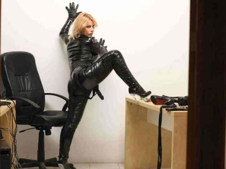 blond mistress, strapon mistress
