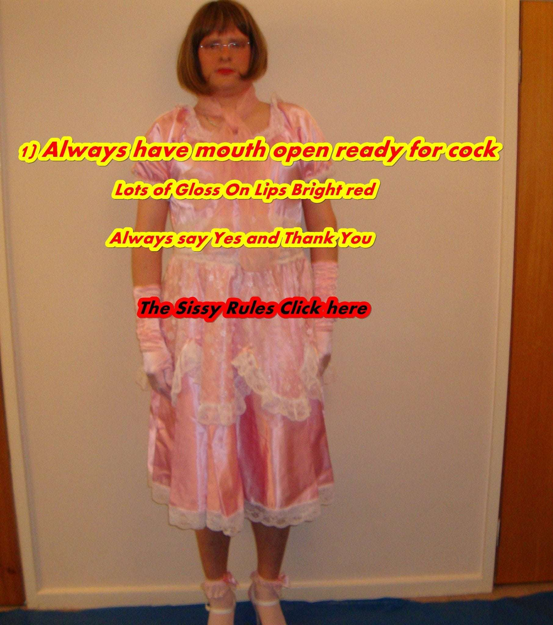 Forced Sissy Slave Captions