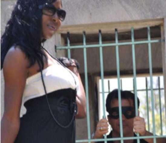 bondage cams, bondage fantasy, slave in a cage