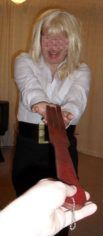 corporal punishment picture, sissy punished