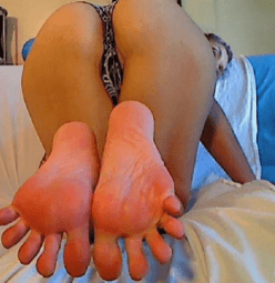 soles of sexy feet